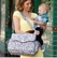 JJ Cole Cadence Diaper Bag - Ash Woodland