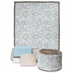 JJ Cole Crib Bedding - Sky Orbit