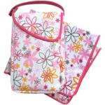 JJ Cole Diaper & Wipes Pod in Pink Craze