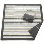 JJ Cole Outdoor Blanket - Grey/Green