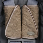 JJ Cole Reversible Strap Covers - Khaki