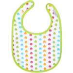 JJ Cole Soft Bib Bright Leaves