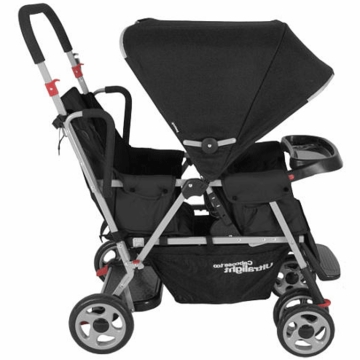 Joovy Caboose Too Ultralight Stand-On Tandem Stroller in Black