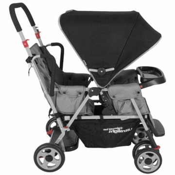Joovy Caboose Too Ultralight Stand-On Tandem Stroller in Charcoal