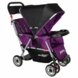 Joovy Caboose Too Ultralight Stand-On Tandem Stroller in Purpleness