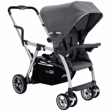 Joovy Caboose VaryLight Stand-On Tandem Stroller in Charcoal