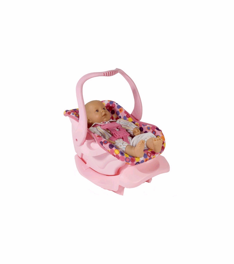 Toy Baby Doll Car Seat