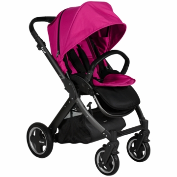 Joovy Qool Stroller in Hot Pink