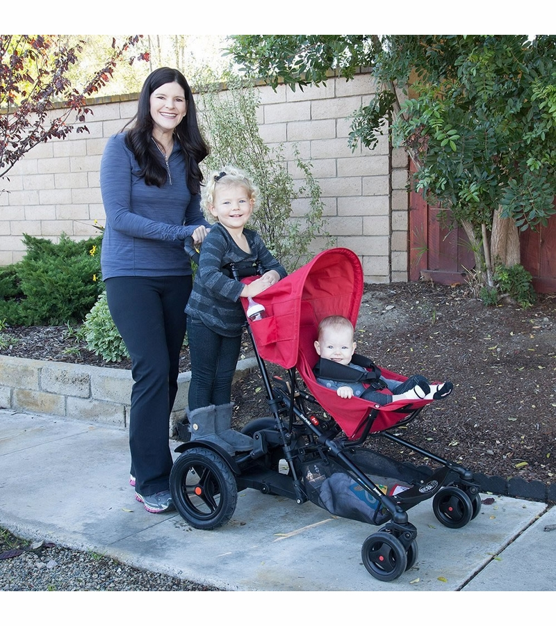Joovy TooFold Sit & Stand Double Stroller - Black