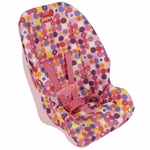 Joovy Toy Booster Carseat in Pink Dot