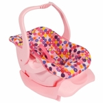 Joovy Toy Infant Carseat in Pink Dot
