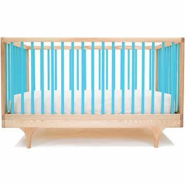 Kalon Studios Caravan Crib in Blue