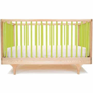 Kalon Studios Caravan Crib in Green