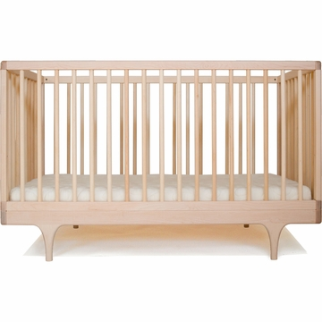 Kalon Studios Caravan Crib in Raw Maple