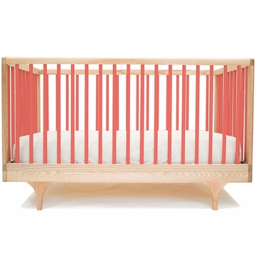 Kalon Studios Caravan Crib in Red