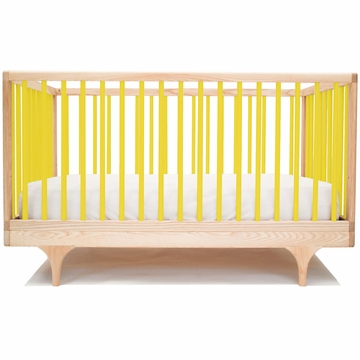 Kalon Studios Caravan Crib in Yellow