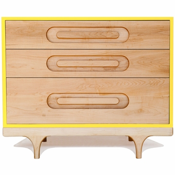 Kalon Studios Caravan Dresser in Yellow