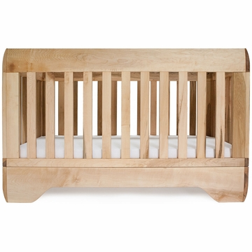 Kalon Studios Echo Crib in Oiled Maple
