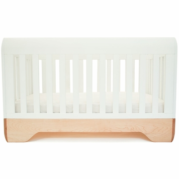 Kalon Studios Echo Crib in White