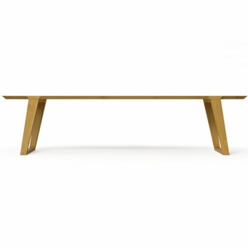 Kalon Studios Isometric Bamboo Bench - Medium