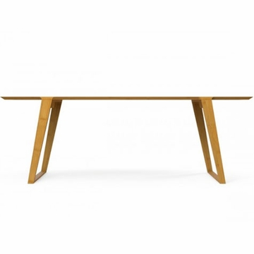 Kalon Studios Isometric Bamboo Table - Small
