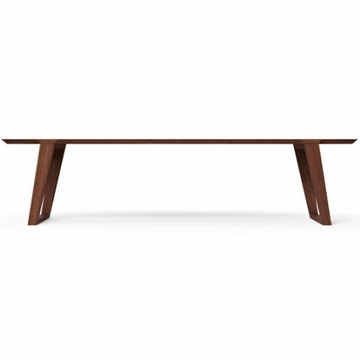 Kalon Studios Isometric Black Walnut Bench - Large