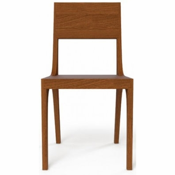 Kalon Studios Isometric Chair in Black Walnut