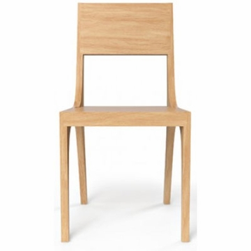 Kalon Studios Isometric Chair in White Oak