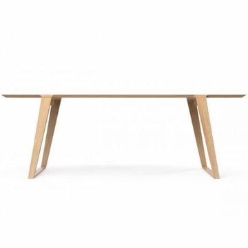 Kalon Studios Isometric White Oak Table - Small