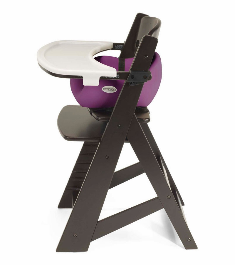 Keekaroo Height Right High Chair & Infant Insert - Espresso ...