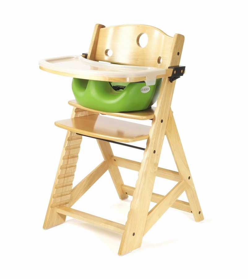 Keekaroo Height Right High Chair & Infant Insert Natural