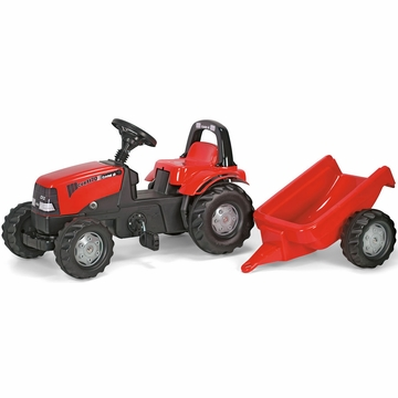 Kettler Case CVX 1170 Kid Tractor with Trailer
