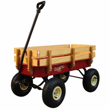 Kettler Metal and Wood Wagon