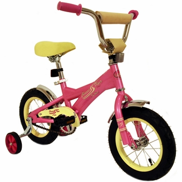"Kettler New 12"" Retro Bicycle in Pink"