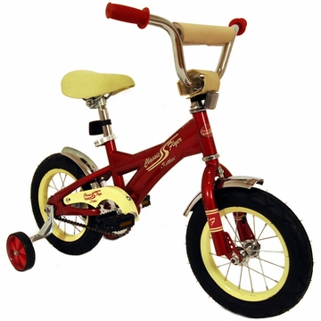 "Kettler New 12"" Retro Bicycle in Red"