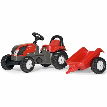 Kettler Valtra Kid Tractor with Trailer
