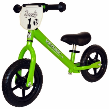 "Kettler Verso 10"" Speedy Balance Bike in Green"