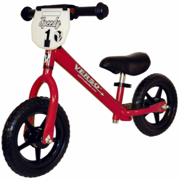 "Kettler Verso 10"" Speedy Balance Bike in Red"