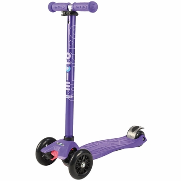 Kickboard USA Maxi Micro Anodized Kickboard Scooter, Limited Edition - Purple