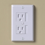 KidCo Universal White Outlet Cover 3 Pack