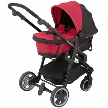 Kiddy Click'n Move 3 Carrycot - Cranberry