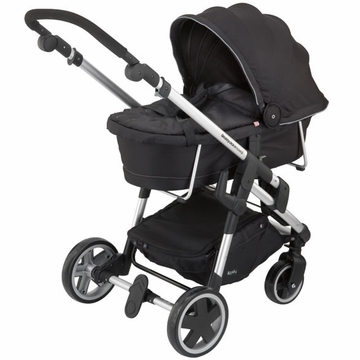 Kiddy Click'n Move 3 Carrycot - Racing Black