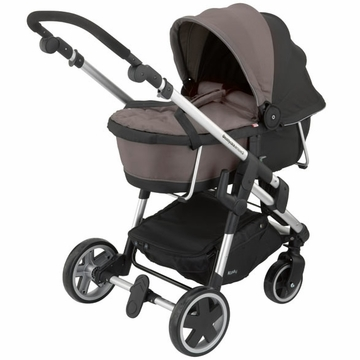 Kiddy Click'n Move 3 Carrycot - Walnut