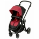 Kiddy Click'n Move 3 Stroller - Cranberry
