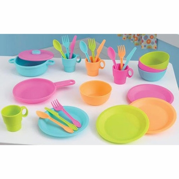 KidKraft 27 Piece Bright Cookware