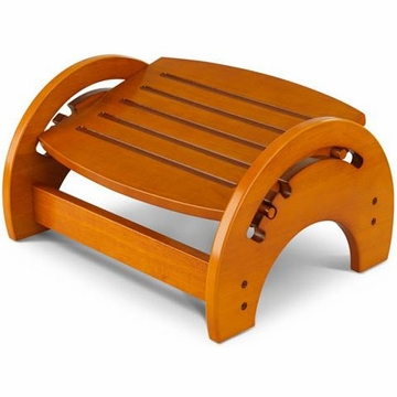 KidKraft Adjustable Stool for Nursing in Honey