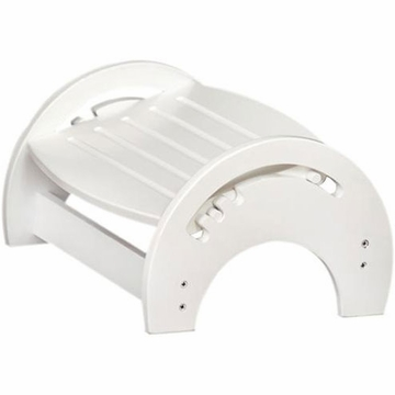 KidKraft Adjustable Stool for Nursing in White