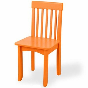 KidKraft Avalon Chair in Pumpkin
