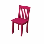 KidKraft Avalon Chair in Rasberry