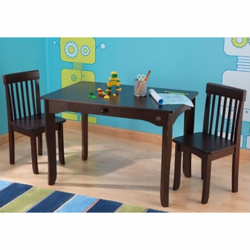 KidKraft Avalon Table & Chair Set in Espresso